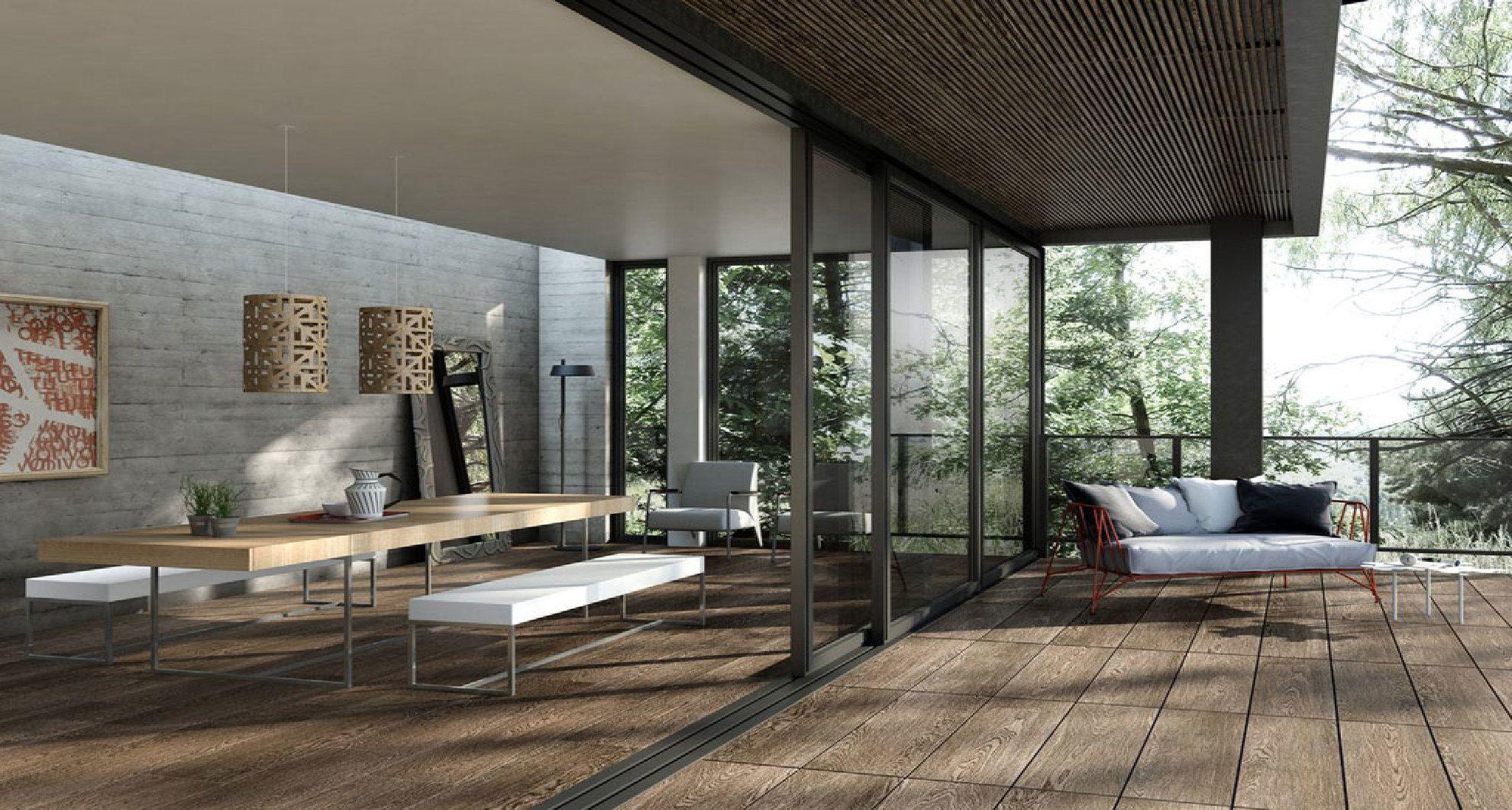 Baldosas de gres efecto madera para espacios interiores y exteriores floornature - Baldosas de madera para exterior ...