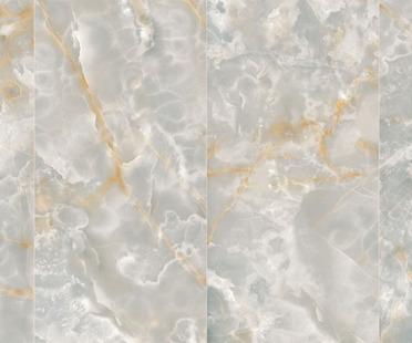Ultra Ariostea: grandes placas de gres con efecto ónice y metal