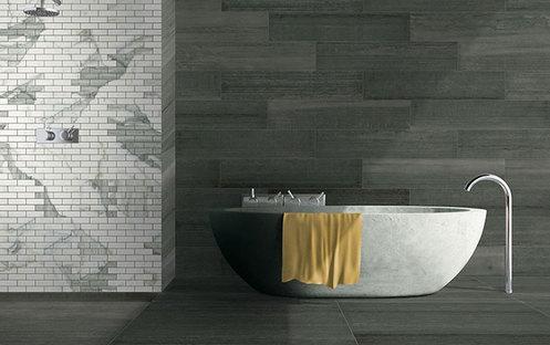 Crear ambientes contemporáneos con baldosas de gres Stonepeak