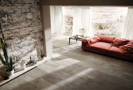 Nuevos revestimientos contemporáneos Diesel Living with Iris Ceramica