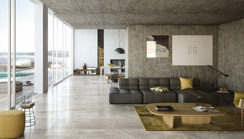 Urban living design: City y Mile_Stone de Porcelaingres
