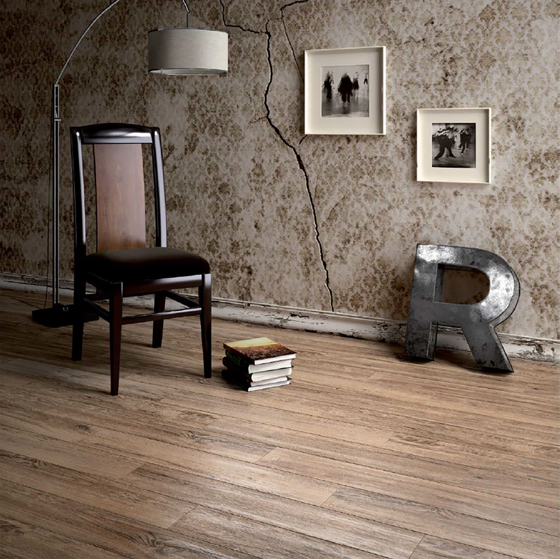 Suelos con efecto madera Porcelaingres: atmósferas cálidas y acogedoras para la casa