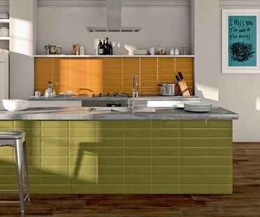 Revestimientos para baños y cocinas Adamas: nuevos horizontes para la cerámica técnica