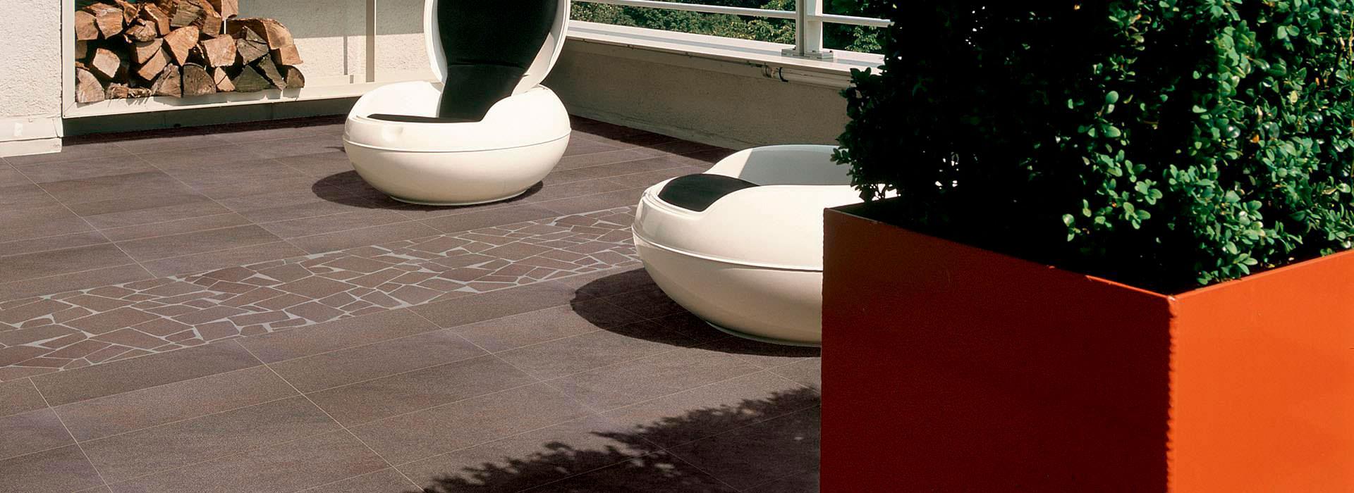 Suelos efecto piedra de FMG para ambientes rústicos modernos