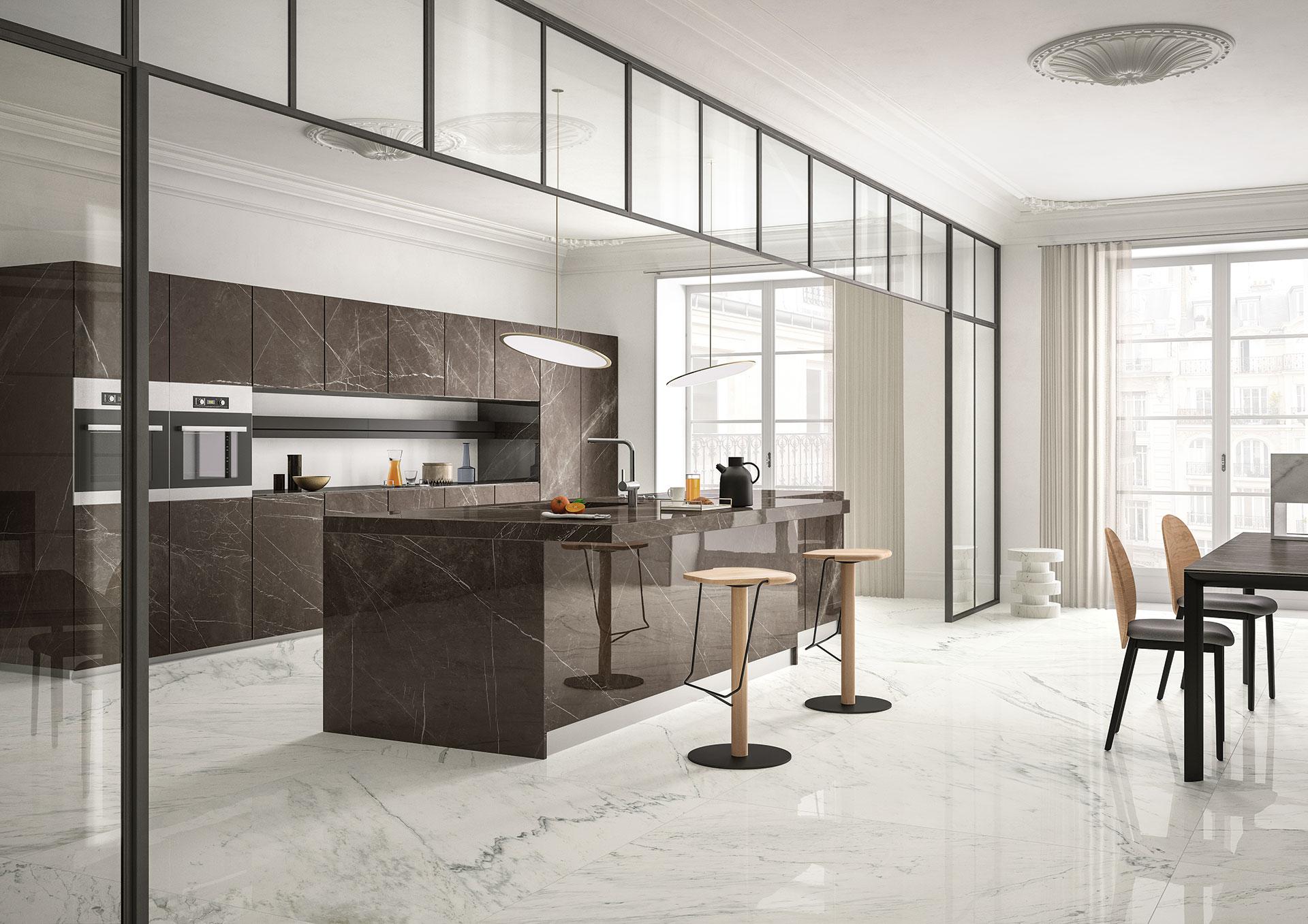 Sapienstone la mejor encimera de cocina de gres for Mejor material para encimeras de cocina