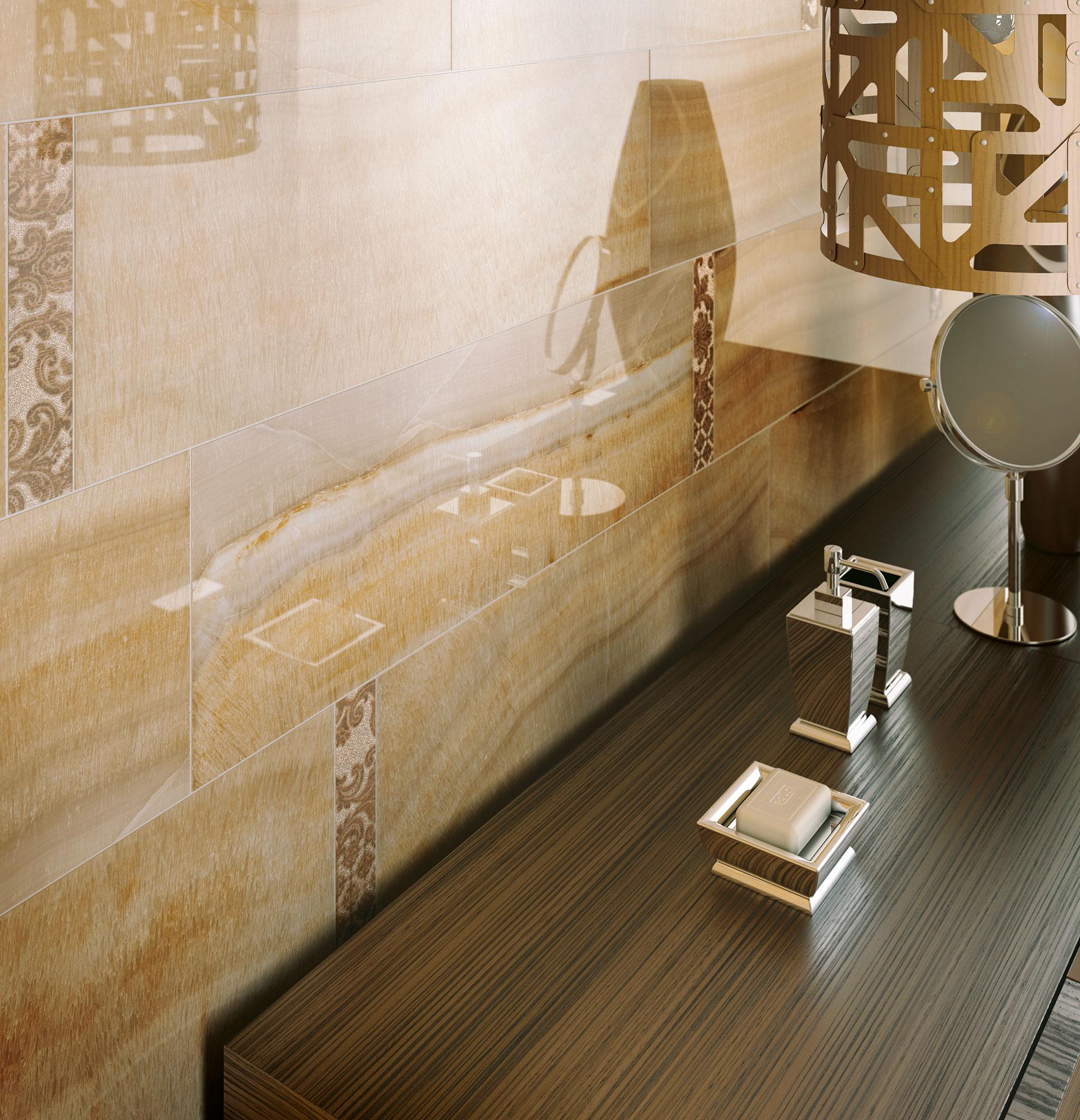 La fascinación de los ambientes clásicos IRIS: pavimentos y revestimientos Muse