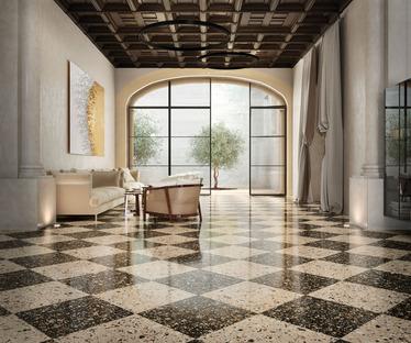 Nuevas colecciones FMG: con Venice Villa revive la fascinación del terrazo veneciano
