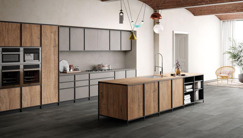 Encimera de cocina efecto madera: la nueva colección Rovere de SapienStone