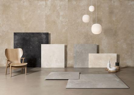 Nuevas inspiraciones para el estilo minimalista: CON.CREA. y Blend.HT Ariostea