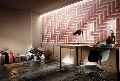 Diesel Living with Iris Ceramica: los nuevos efectos de diseño Cosmic Marble