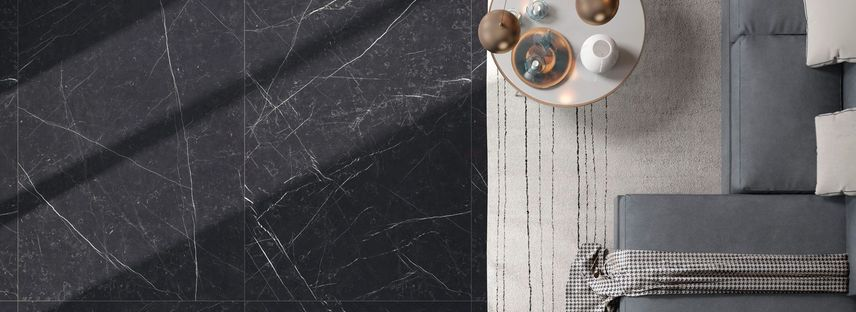 La elegancia y el encanto de las superficies oscuras: mármoles Maxfine FMG