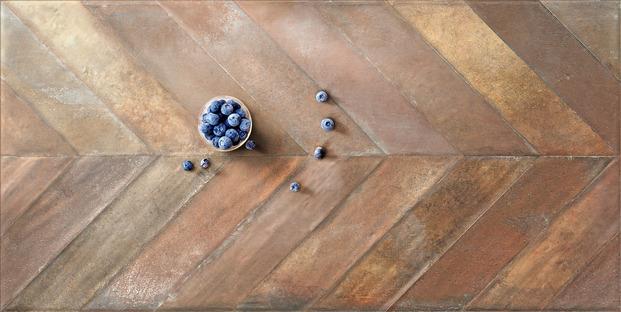 Madera, piedra, terracota y mayólica: variedad y fantasía con los suelos Whole