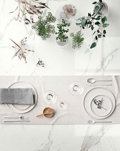 Blanca, luminosa y acogedora: la encimera SapienStone Calacatta para la cocina de 2020