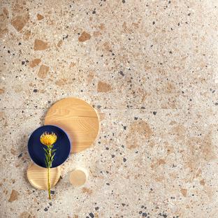 Colores neutros de tendencia: superficies en efecto piedra Fragmenta Full Body