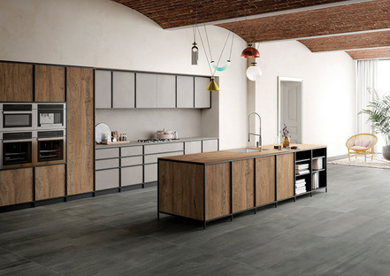 Clásico y contemporáneo en las nuevas cocinas SapienStone