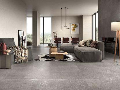 Diseño minimalista de inspiración nórdica: superficies cerámicas Loft