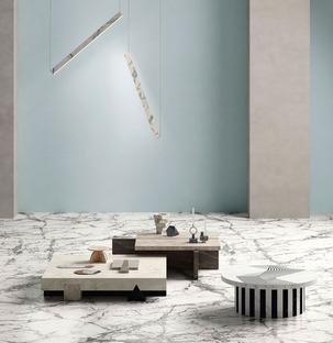 Funcional y decorativo: las dos almas del mármol en las nuevas colecciones de Fiandre