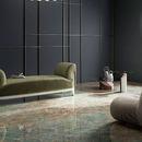 Grandes losas cerámicas Fiandre: la fascinación del verde azulado Amazonite