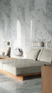Crystal Dark, Grey y Sky: la refinada elegancia de los nuevos mármoles Ariostea