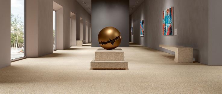 Originales e irrepetibles, como sucede en la naturaleza: las losas cerámicas Palladio FMG