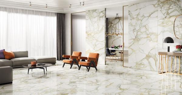 FMG Select: arquetipos de belleza en las superficies de efecto mármol