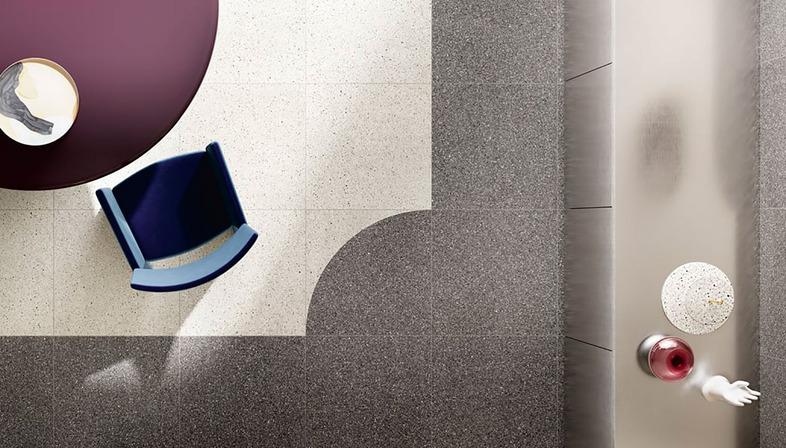 Il Veneziano: la estética del terrazo para interiores elegantes e intemporales