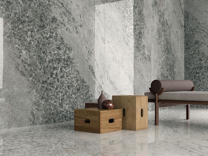 Nuevas soluciones de revestimiento cerámico: la decoración natural de los minerales