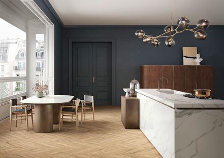 Encimeras de cocina SapienStone: superficies resistentes y prácticas para espacios personalizados