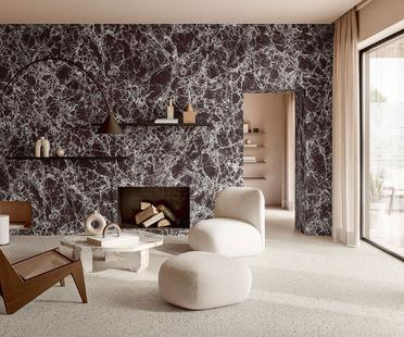 La fascinación y la belleza del gran formato cerámico: los nuevos mármoles Iris Ceramica Group