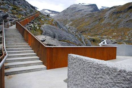 Trollstigen. Proyecto: RRA Reiulf Ramstad Architects