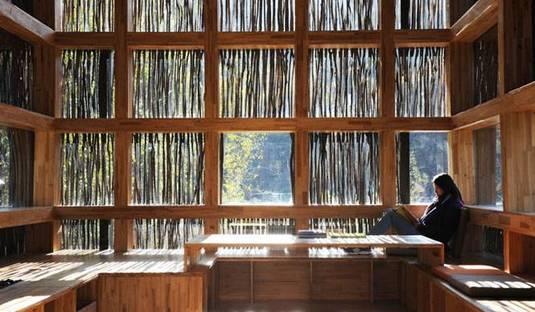 Biblioteca en el bosque, Li Xiaodong