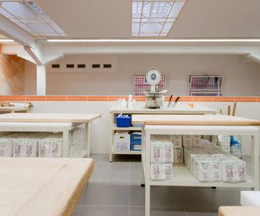 ACTIVE Clean Air & Antibacterial Ceramic™ en la cocina de un conocido restaurante de Bolonia.