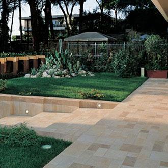 Pavimentos para exteriores de gres efecto piedra floornature for Pavimentos para exteriores