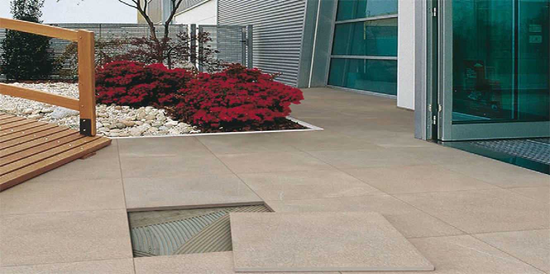 Pavimentos para exteriores de gres efecto piedra floornature for Encimera gres porcelanico