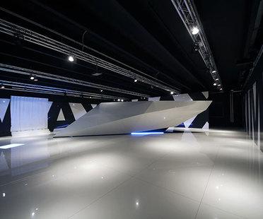 Exponer Maximum. Nuevo showroom Fiandre en Castellarano, Italia.
