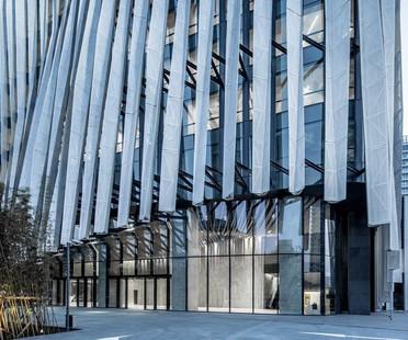 Parasoles de aluminio para Kengo Kuma – Shanghai Soho Buliding