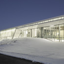 Campo de fútbol cubierto calefactado en Canadá, en la Ciudad de Quebec