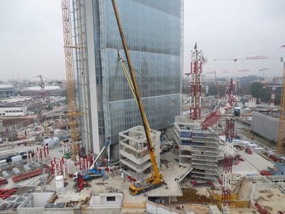 La estructura de la Torre Allianz de Milán - Andrea Maffei e Associati