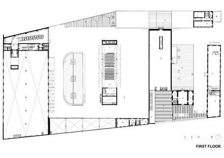 Plan maestro de la Fundación Prada de Milán de OMA Rem Koolhaas