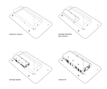 Gigantographies imprimées sur verre pour la Glass Farm de MVRDV