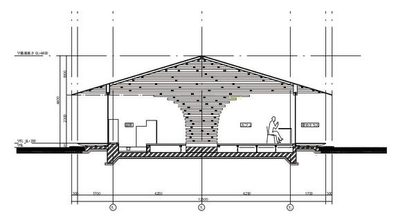 Estructura en forma de árbol para Coeda House de Kengo Kuma