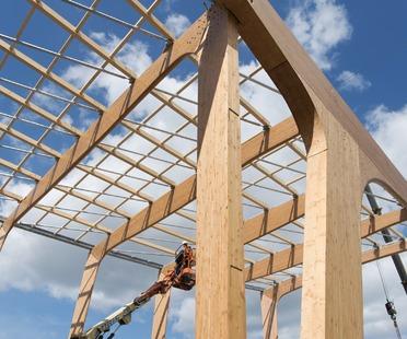 Floornature portal de arquitectura - Estructura madera laminada ...