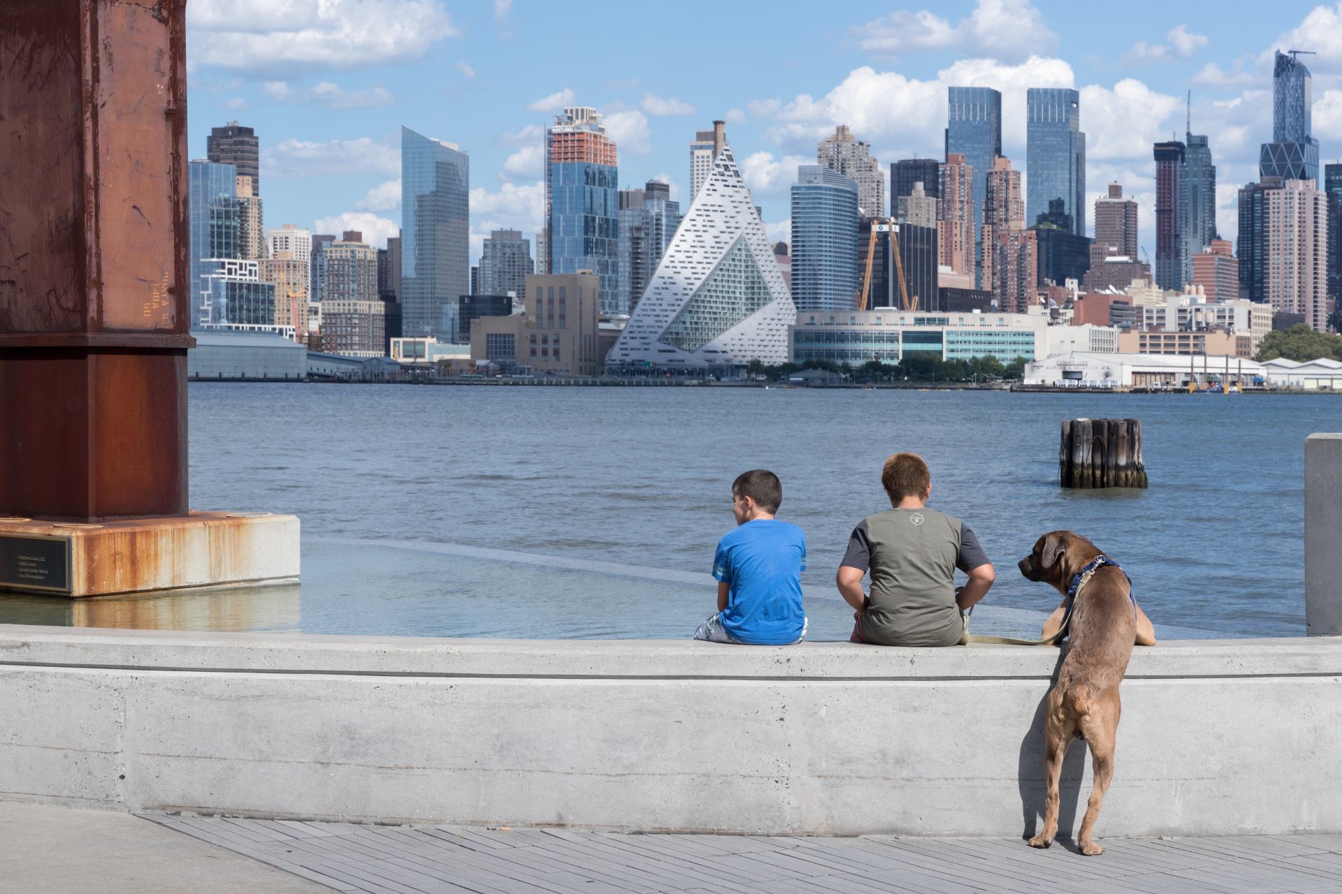 Courtscrapere W57 por BIG Bjarke Ingels Group en Manhattan