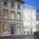 En Londres el Maggie's Centre Barts de Steven Holl realizado en cemento, cristal y bambú