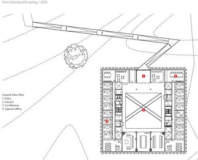 Esoscheletro prefabbricato per il Wageningen University and Research Centre di Rafael Viñoly