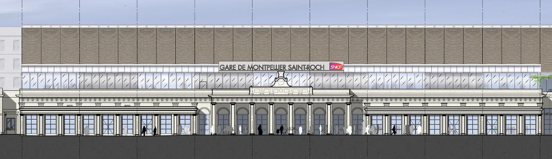 La ampliación de la Estación de Montpellier de AREP con ETFE