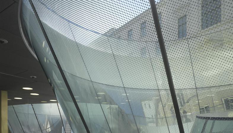 El museo subterráneo Joanneumsviertel de Nieto Sobejano
