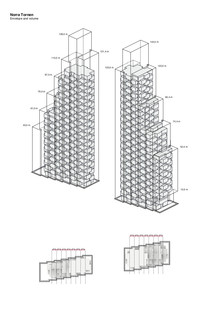 Una Torre de cemento en Estocolmo por OMA