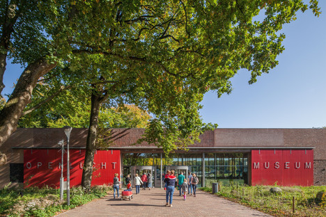 Ladrillos, cobre y madera para el Museo al Aire Libre, por Mecanoo
