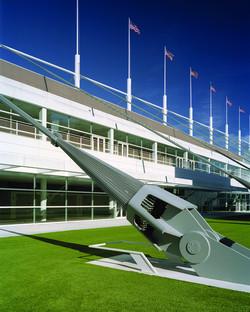 Estructura suspendida para el Centro de Convenciones David Lawrence, por Rafael Viñoly